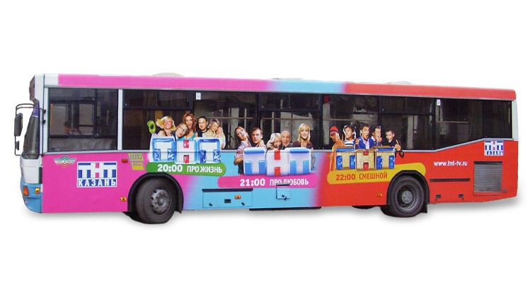 реклама на автобусах Волгограда