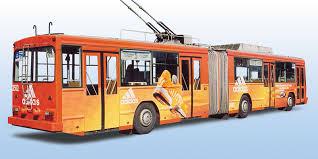 реклама на троллейбусах ,реклама на троллейбусах в Волгограде